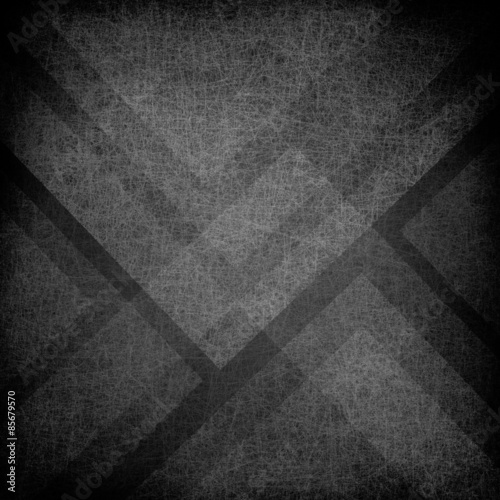 abstract black triangle background, layered geometric shapes and lines in artsy composition, modern contemporary background design