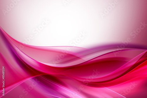 Pink Purple Abstract Waves Background