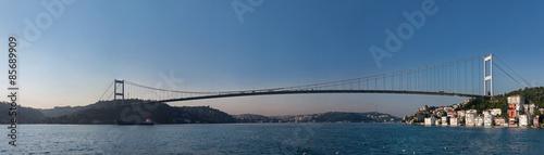 Fotografia  Panoramic Fatih Sultan Mehmet Bridge
