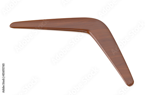 Платно wooden returning boomerang