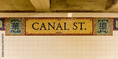 Canal Street Station - New York
