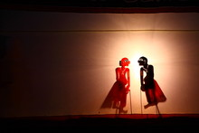 A Traditional Thailand Shadow Puppet Show