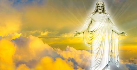 FototapetaJesus Christ in Heaven panoramic image
