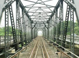 FototapetaOld railway bridge