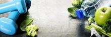 Fresh Healthy Vegetables, Wate...