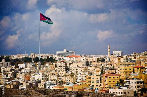 Photo Jordan Flag in Amman