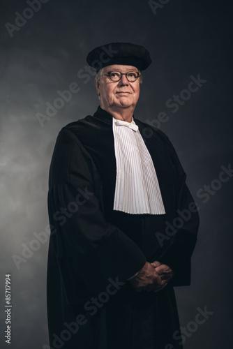 Fotografija  Portrait of Magistrate in Traditional Costume