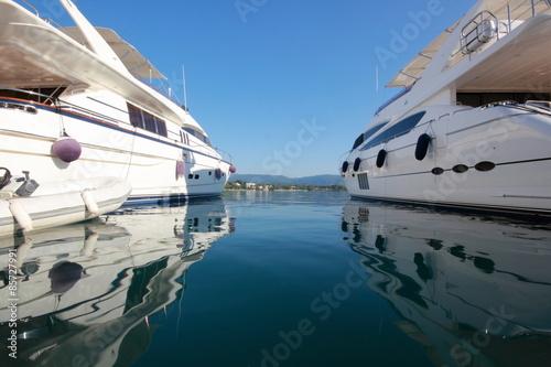 Foto op Plexiglas Water Motor sporten super yachts