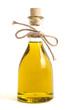 Leinwandbild Motiv Fläschchen Olivenöl
