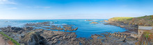 Panorama From The Lizard Point, Cornwall, UK