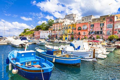 Poster de jardin Europe Méditérranéenne beautiful Italian islands - Procida (Campania)