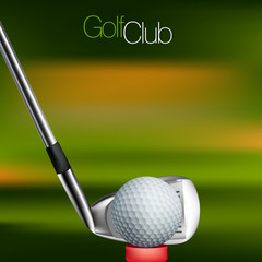 Fototapeta Golf Golf Background All elements are in separate layers and grouped.