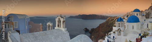 Papiers peints Santorini Sunrsie at Oia Santorini