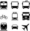 Logistics icons. Vector illustration. Web elements