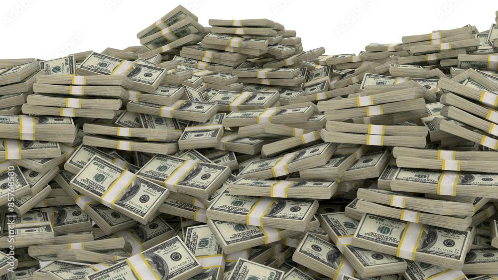 Fototapety, obrazy: money heap