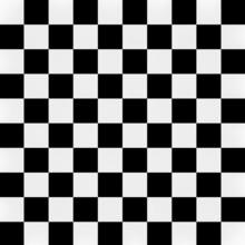3d Black White Square Pattern