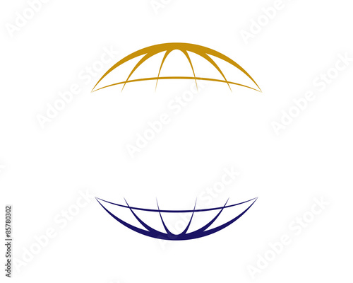 Fototapeta Circle Globe Global Logo obraz
