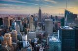 Manhattan Skyline at Twilight - 85781902