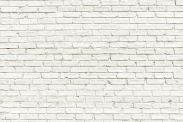 Fototapeta Skandynawski White brick wall background
