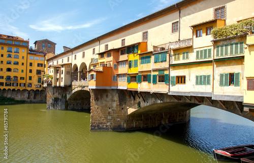 Fotografie, Obraz  Ponte Vecchio. Florence.
