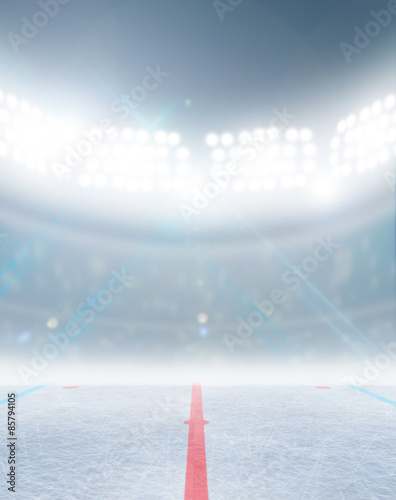 Photo  Ice Hockey Rink Stadium