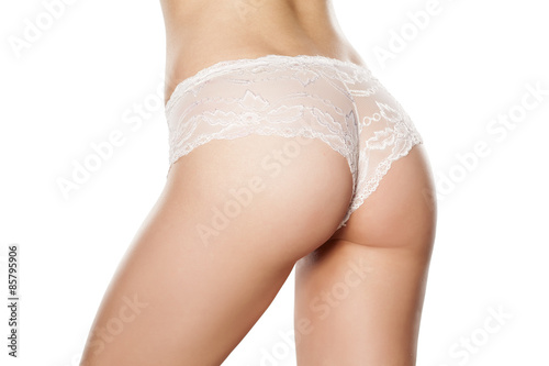 Poster Ezel pretty female buttocks in lace panties