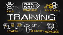 Training Concept With Educatio...
