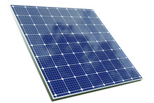 Solar Cell Panel With Clipping...