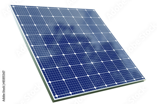 Obraz solar cell panel with clipping path - fototapety do salonu