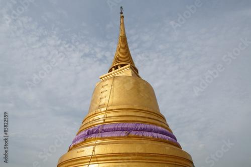 Photo  Golden Mount and Wat Saket, Bangkok, Thailand