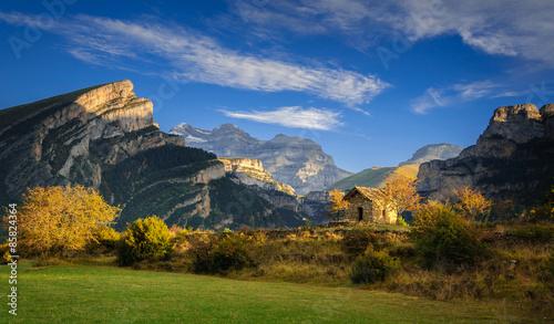 Photo Cañon de Añisclo y Monte Perdido (Pirineos / Pyrénées)