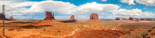 Canvas Prints Arizona Monument Valley - Panorama View