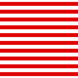 Abstract Seamless Horizontal striped pattern with red and white - 85865550