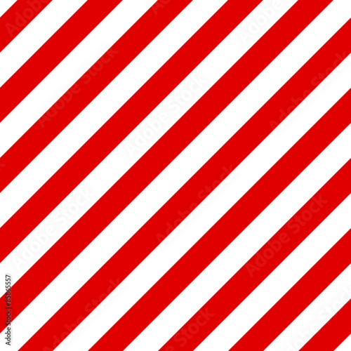 Fotografía Abstract Seamless diagonal striped pattern with red and white st