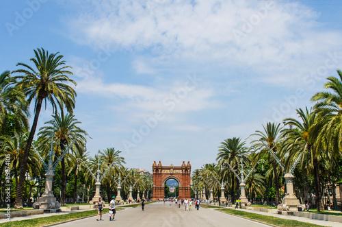 Foto op Canvas Barcelona Barcelona