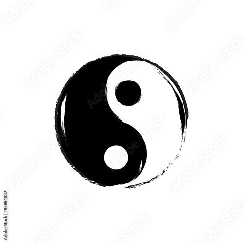 Fotografija  Yin Yang symbol. Vector.