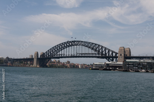Staande foto Sydney Sydney Harbour Bridge