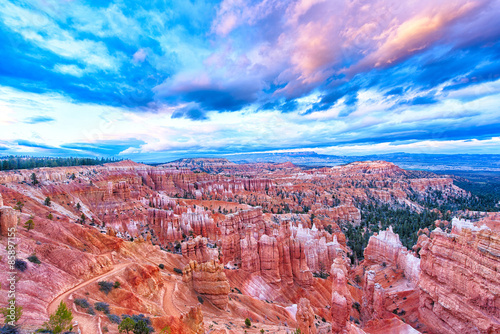 Fotobehang Canyon Bryce Canyon