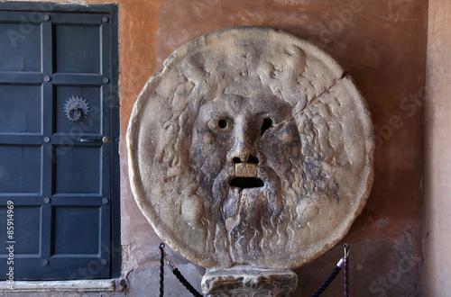 Foto op Aluminium Rome Bocca della Verita, The Mouth of Truth in Rome, Italy