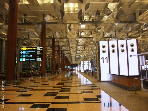 Foto op Aluminium Luchthaven Changi Airport in Singapore