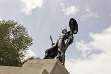 Wellington Monument, Statue Of...