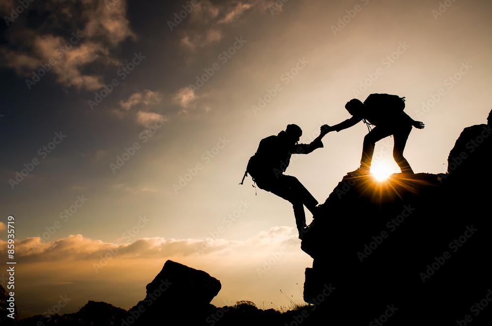 Fototapety, obrazy: desteklemek&yardımcı olmak&dayanışma ruhu