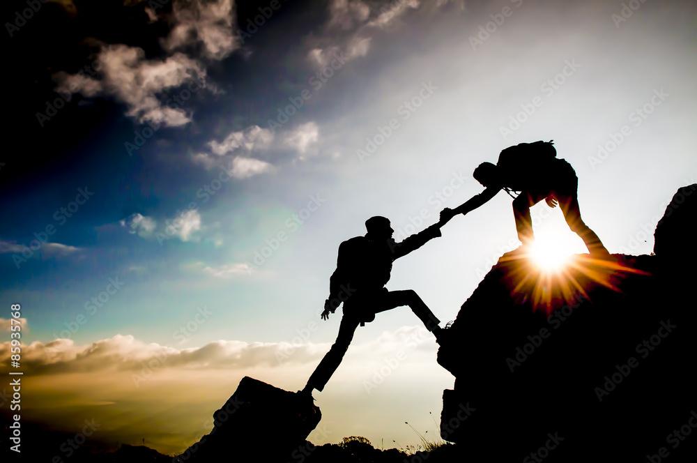 Fototapety, obrazy: hedef başarısı ve birlik beraberlik ruhu