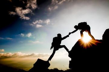 Fototapeta hedef başarısı ve birlik beraberlik ruhu