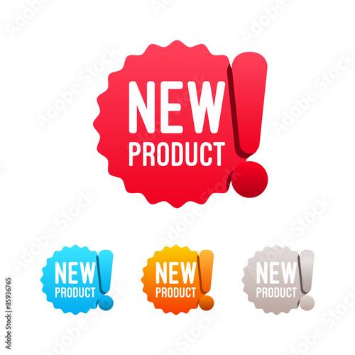 Fotografía  New Product Labels