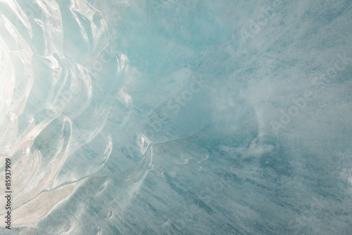 Fotobehang Gletsjers Glacier blue ice background