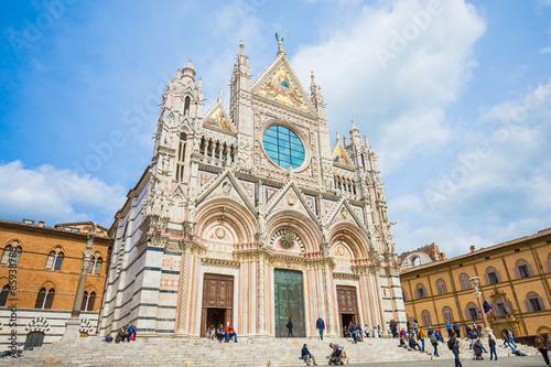 The Duomo of Siena in Tuscany, Italy Fototapeta