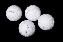 Cracked Golf Balls
