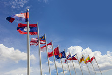 AEC Flag, ASEAN Flag, And The ...