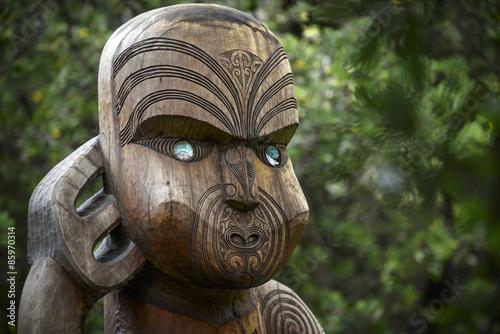 Tuinposter Nieuw Zeeland Maori Kultur